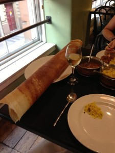 The massive Dosa at Dakhin