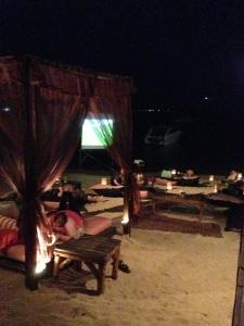 Coco Tams Beach Bar Screen