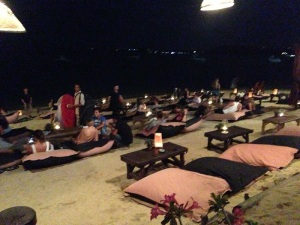 Coco Tams Beach Bar Seating