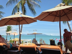 The Bo Phut View from Pool Deck